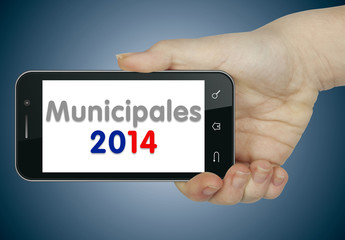 Municipales 2014. Mobile