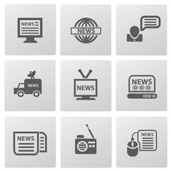 News icons,vector