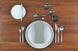 gedeckter Tisch - 61072583