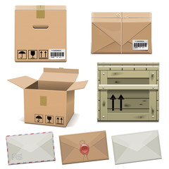 Vector Package Icons