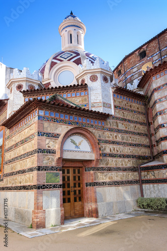 church of LLoret de Mar.Catalonia.Spain