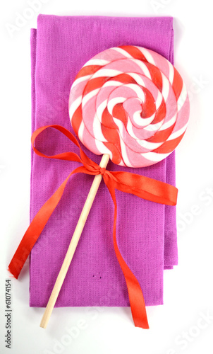 Colorful lollipop lolly pop lolly-pop