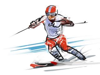 Ski, turn