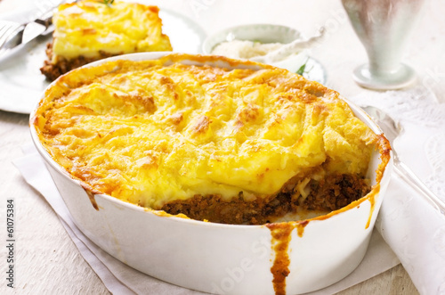 canvas print picture Shepherd's pie