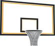 Постер, плакат: Баскетбольная корзина