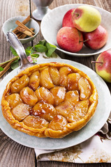 Apple Tart - Tarte Tatin