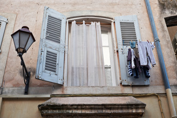 Window in Saint Tropez