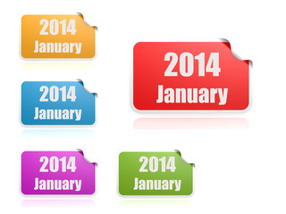 January of 2014