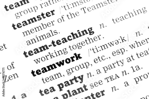 Teamwork Dictionary Definition