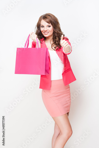 Elegant shopper.