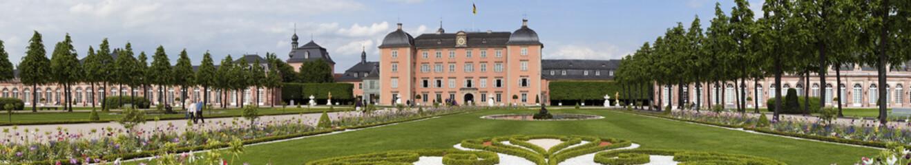 Schloss Schwetzingen Panorama