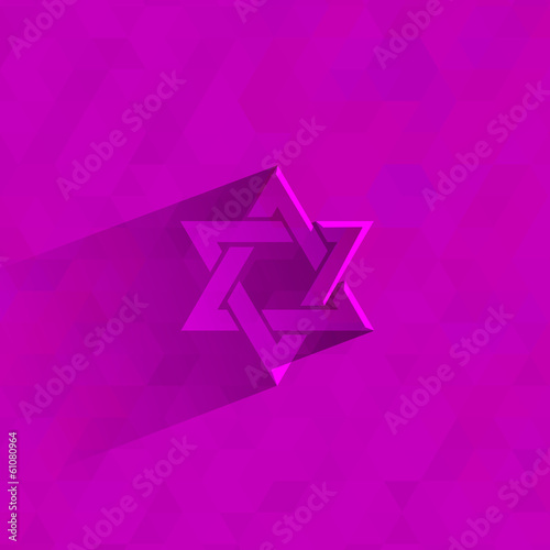 Star of David . Vector format