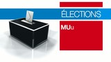 Elections municipales 2014 maire bulletin vote urne 3d animation