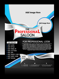 Saloon Flyer Template