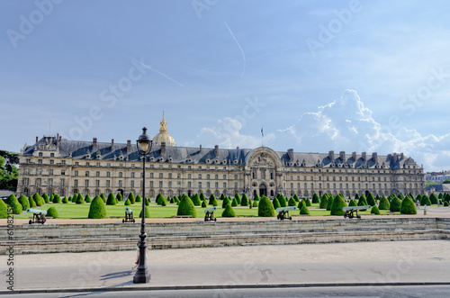 Les Invalides in Paris, France