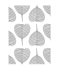 pipal leaves pattern background