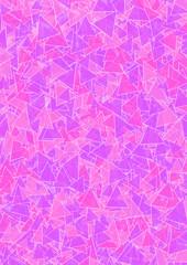 Hintergrund pink und lila Dreiecke