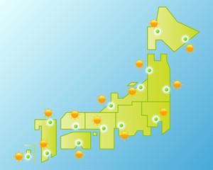 日本のお天気