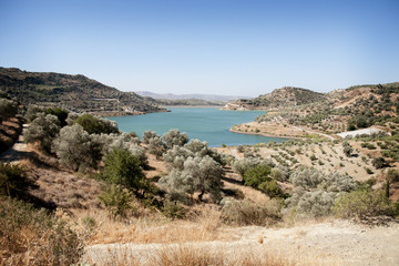 Lake in Crete