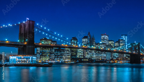 Brooklyn Bridge NYC Skyline - 61083155