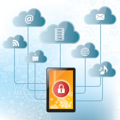 Sharing files in the cloud computing with security