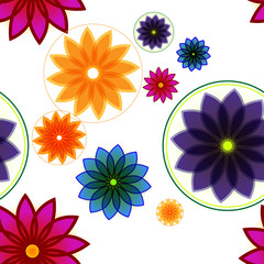 Seamless Floral Background Or Pattern