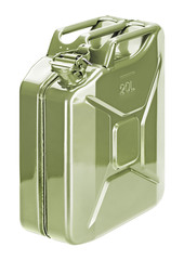 Fuel storage can (jerry can)