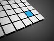 Business cubes concept