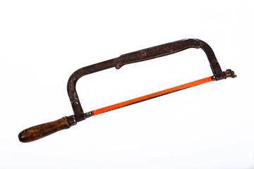 ancienne scie à metaux