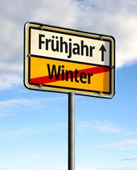Winter - Frühjahr