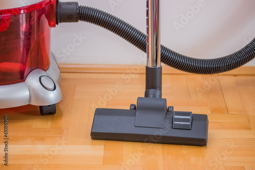 vacuum cleaner power head on the floor