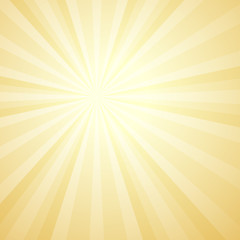 Sunburst Background. Card Template. Vector Illustration