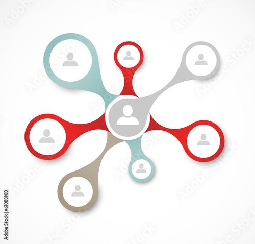 Social network concept - 61088100