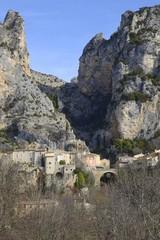 Moustiers-Sainte-Marie, Provence-Alpes-Côte d'Azur - France