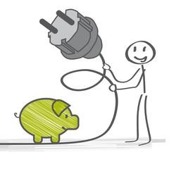 Stecker, Strom sparen