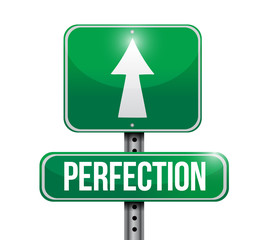 perfection sign illustration design