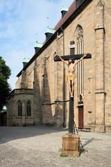 Kreuz auf dem Domberg in Erfurt