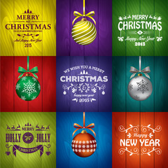 Christmas greeting card templates