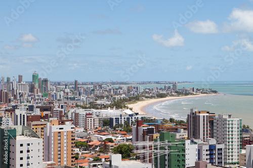 Panorama of Joao Pessoa in Brasil