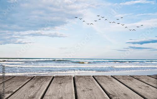 Fotobehang Een Hoekje om te Dromen un dia en la playa tropical