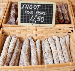 Fagot saussage from Provence