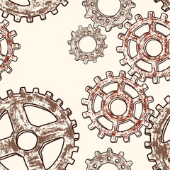 pattern of gear wheels