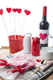 Love. Heart. Valentine's Day. Wine.