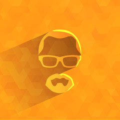 Hipster. Vector format