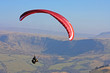 paraglider in Brecon Beacons - 61096997