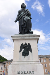 Österreich - Salzburg, Mozart Statue