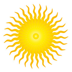 Strahlende Sonne - Esoterik