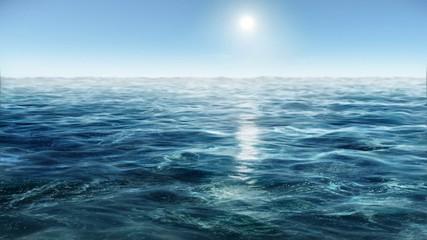 Ocean wave water 3D