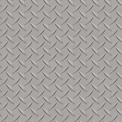 Seamless metal texture rhombus shapes 3