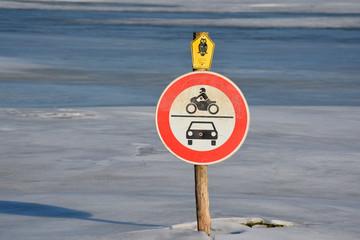 Fahrverbot und gesetzlich geschützter Biotop